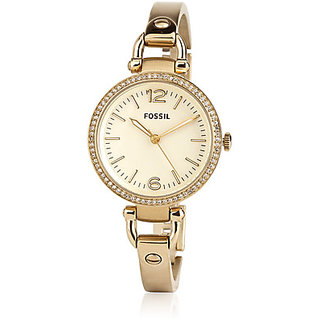 Fossil ES3227 Ladies GEORGIA Gold Watch