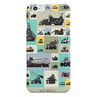 Dreambolic Mad World I Phone 6 Plus Mobile Cover