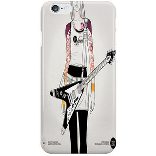 Dreambolic Girl With Guitar I Phone 6 Plus Mobile Cover