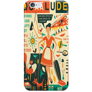 Dreambolic Q Is For Quaalude I Phone 6 Plus Mobile Cover