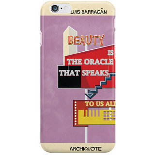 Dreambolic Quote Luis Barragn I Phone 6 Plus Mobile Cover