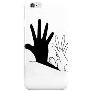 Dreambolic Rabbit Hand Shadow I Phone 6 Plus Mobile Cover