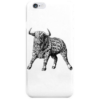 Dreambolic Raging Bull I Phone 6 Plus Mobile Cover