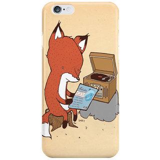 Dreambolic Record Player I Phone 6 Plus Mobile Cover