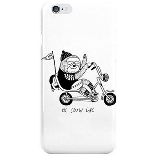 Dreambolic Sloth Riding A Bike I Phone 6 Plus Mobile Cover