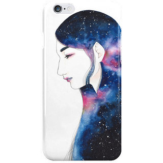 Dreambolic Space Girl I Phone 6 Plus Mobile Cover