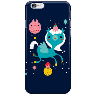 Dreambolic Space Unicorn And Kittens I Phone 6 Plus Mobile Cover