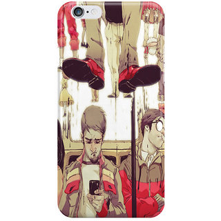 Dreambolic The Storm Line I Phone 6 Plus Mobile Cover