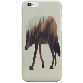 Dreambolic Norwegian Woods The Wolf I Phone 6 Plus Mobile Cover