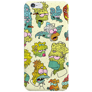 Dreambolic Nuclear Citizens I Phone 6 Plus Mobile Cover