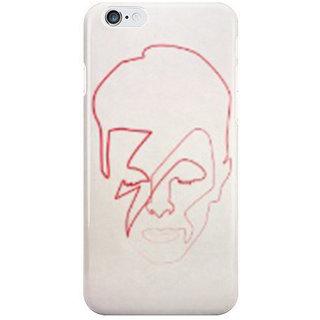 Dreambolic One Line Aladdin Sane I Phone 6 Plus Mobile Cover