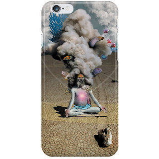 Dreambolic Apocalypse Inside Of An Orange I Phone 6 Plus Mobile Cover