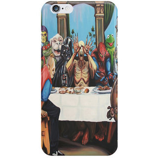 Dreambolic The Best Supper I Phone 6 Plus Mobile Cover