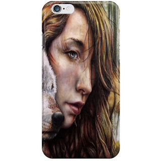 Dreambolic The Girl And The Wolf I Phone 6 Plus Mobile Cover