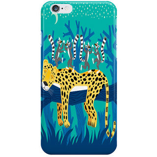 Dreambolic The Leopard And The Lemurs I Phone 6 Plus Mobile Cover