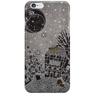 Dreambolic Twas A Moonlit Winter Night I Phone 6 Plus Mobile Cover