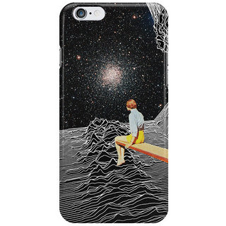 Dreambolic Unknown Pleasures To Infinity I Phone 6 Plus Mobile Cover