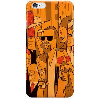 Dreambolic The Big Lebowski1 Back Cover For I Phone 6