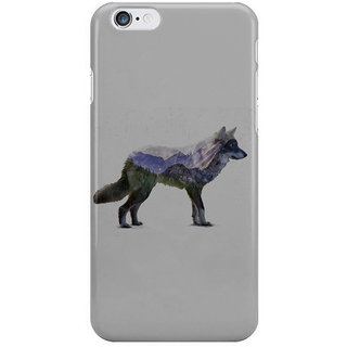 Dreambolic The Rocky Mountain Gray Wolf I Phone 6 Plus Mobile Cover