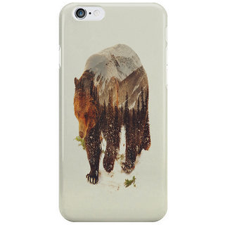 Dreambolic Wild Grizzly Bear I Phone 6 Plus Mobile Cover
