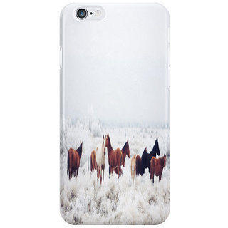 Dreambolic Winter Horseland I Phone 6 Plus Mobile Cover