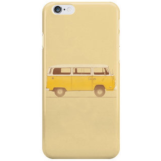 Dreambolic Yellow Van I Phone 6 Plus Mobile Cover