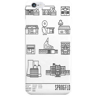 Dreambolic Sprngfld Back Cover For I Phone 6