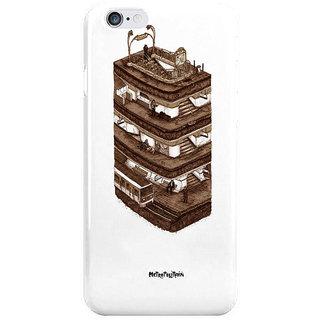 Dreambolic Metropolitain I Phone 6S Back Covers