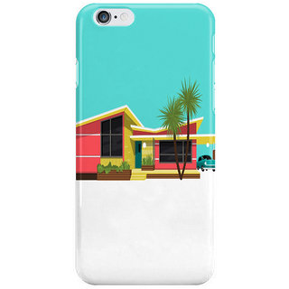 Dreambolic Mid Century House I Phone 6S Back Covers