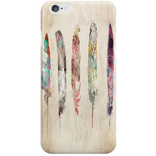 Dreambolic Pop Art Feathers I Phone 6S Back Covers