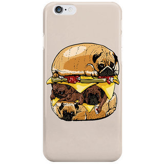 Dreambolic Pugs Burger I Phone 6S Back Covers