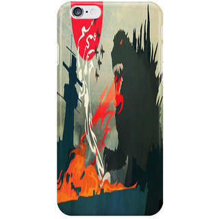 Dreambolic Tokyo Or Bust I Phone 6S Back Covers