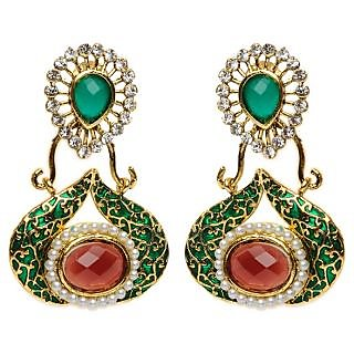 Shining Diva Elegant Design Earrings