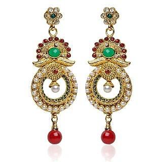 Shining Diva Festive Layer Earrings