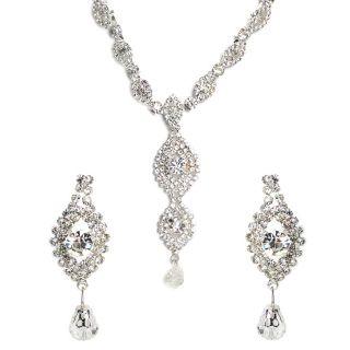 Shining Diva Regal Necklace Set