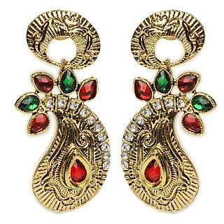 Shining Diva Paisley Galore Earrings