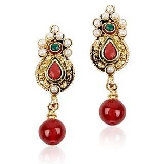 Shining Diva Stylish Hanging Earrings
