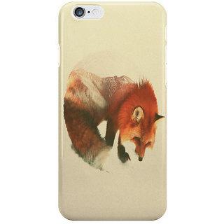 Dreambolic Snow Fox I Phone 6S Back Covers