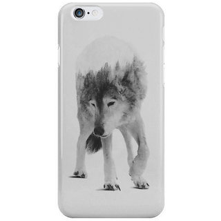 Dreambolic Wolf In The Woods Black White Version I Phone 6S Covers