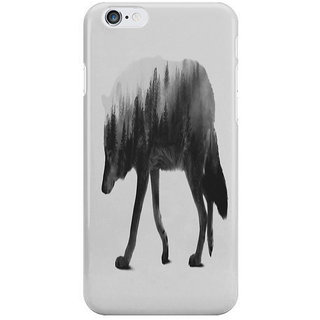 Dreambolic The Wolf Black White Version I Phone 6S Back Covers