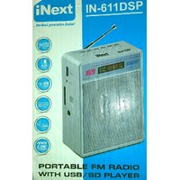 iNext IN-611DSP Portable FM Radio With USB/SD Player