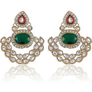 Shining Diva Fashionable Kundan Earrings