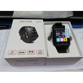 U8 Bluetooth Smart Watch Black/Red