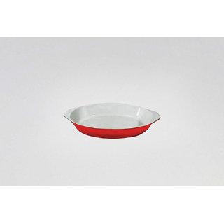 Alda Enamelled Cast Iron Oval Gratin Dish 19cm