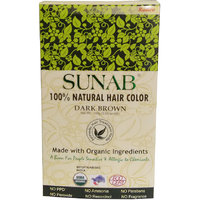 Radico Sunab Herbal Dark Brown Hair Color - 100gm