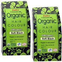 Radico Colour Me Organic Soft Black Hair Colour - 100g (Set Of 2)