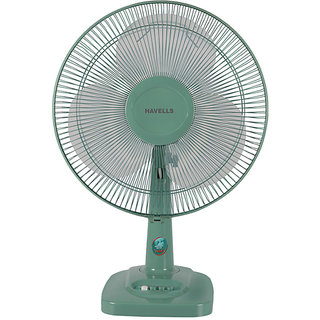 Havells 400 mm Velocity Neo Table Fan Green available at ShopClues for Rs.2081