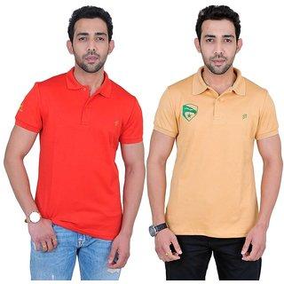 Fabnavitas Mens Polo T-shirt Pack of 2
