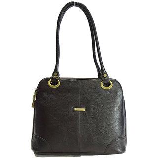 Moochies Ladies Genuine Leather Purse,Color-Brown emzmoclpN11brown
