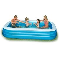 INTEX Inflatable Swimming Pool 10ft6ft With Electric Air Pump #58484 - 95298998
